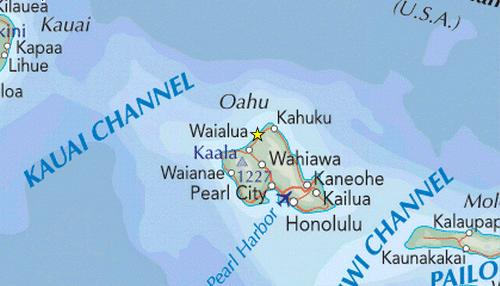 Pupukea Travel Map
