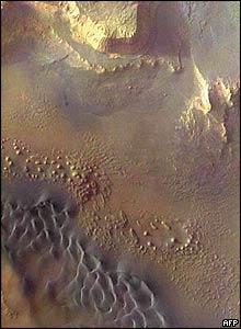 Southern Melas Chasma, Mars