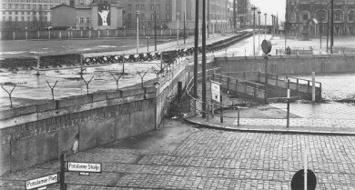 The Berlin-Wall at Potsdamer PLatz